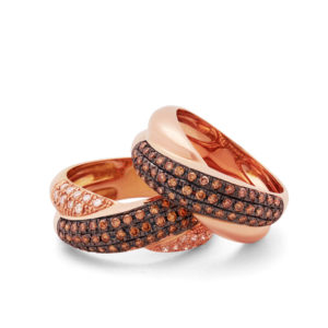 Anillos Brown & Rose
